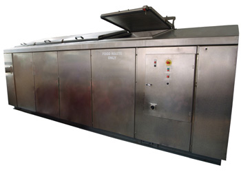 BED 2000 - processes 2000kg per day